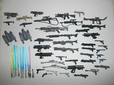 Star Wars Lot of Weapons Lightsabers Accessories for Action Figures