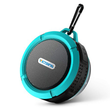 VicTsing Shower Speaker, Wireless Waterproof with 5W Driver, Suction Cup, Built-