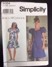 Simplicity #9384 Girls' Plus Dresses - Size 7, 8, 10, 12, 14
