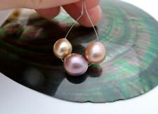INTENSE RAINBOW COLORS AA+ FRESHWATER EDISON HIGH GRADE CULTURED PEARLS