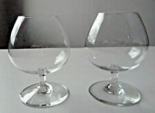 """BACCARAT, service """" PERFECTION """" 2 verres à cognac ou brandy signés"""