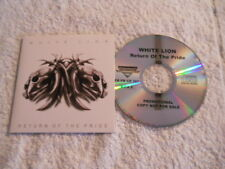 """White Lion """"Return of the Pride"""" 2008 cd Frontiers Rec. Promotional Voice OP"""