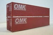 Osborn Models N Gauge * 40' Shipping Containers * Set of 2 * New Kit Rra3064