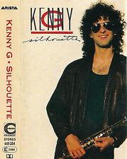 Kenny G  Silhouette CASSETTE GERMANY  10 TRACK ALBUM Soul-Jazz