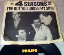 """45 THE FOUR (4) SEASONS I've Got You Under My Skin PHILIPS NMint w PIC SLEEVE 7"""""""
