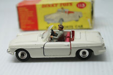 DINKY TOYS 113  * MGB SPORTS CAR CONVERTIBLE  * OVP & TOP * 1:43