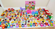 HUGE LOT of 175pc Fisher Price LITTLE PEOPLE Figures Animals Disney MARVEL Zoo +