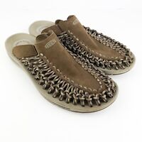 Mens Keen Uneek Slide  Sandals Brown 1014626 Bungee Cord Slip On Shoe Size 11