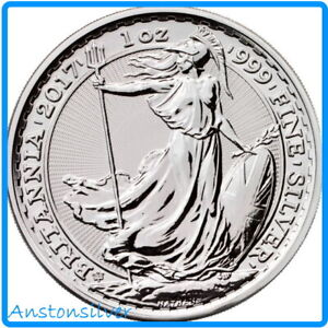 2017 Britannia - 20th Anniversary Privy - .999 Silver BU Encapsulated