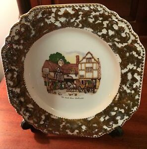 Vintage Antique Liverpool  Rd Pottery  Ltd Stoke On Trent  Wall Plate