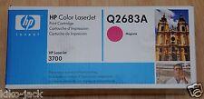 HP Color Laserjet 3700 Q2683A OEM Magenta Toner Cartridge Factory Sealed