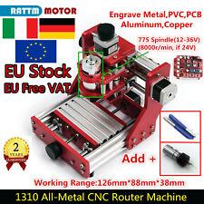 〖Italy〗 DIY CNC 1310 Metal USB Desktop Laser Wood Milling Engraving Machine+ER11