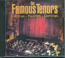 THE FAMOUS TENORS: JOSE CARRERAS, LUCIANO PAVAROTTI, PLACIDO DOMINGO - CD (2006)