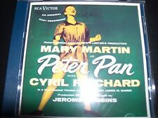 Peter Pan Staring Mary Martin Cast Recording OCR Soundtrack CD – Like New