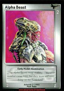 Shadowfist TCG - Alpha Beast / Limited