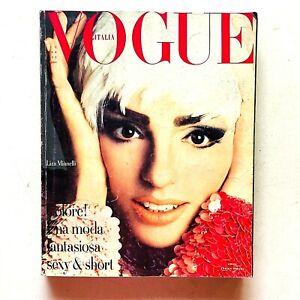 Vogue Italia speciale n. 32 ottobre 1990 Liza Minnelli Veruschka Tatjana Patitz