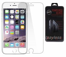 """For iPhone 6 PLUS (5.5"""") Premium Real Tempered Glass Screen Protector Retail Box"""