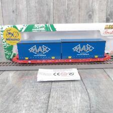 MEHANO T216 - H0 - DB - MAX Logistik Containertragwagen - OVP -#AA27192