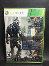 Factory Sealed Crysis 2 Limited Edition XBOX 360 NTSC U/C Free Shipping