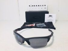 OAKLEY OO9154-13 HALF JACKET 2.0 XL Matte Black w Grey Polarized Lens Suns $163