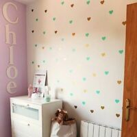 Heart Wall Sticker Decal For Kids Room Baby Girl Room Decorative Stickers Vinyl