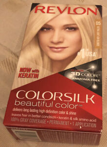 Revlon Colorsilk Hair Color 05 Ultra Light Ash Blonde Ammonia Free