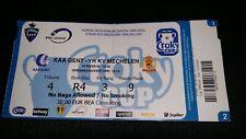 Ticket K AA Gent - YR KV Mechelen FINALE 01.05.2019 BEKER COUPE CROKY CUP
