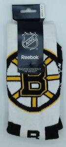 NHL Boston Bruins Reebok Men's Team Logo Crew Socks NEW