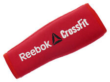 Reebok CrossFit Arm Sleeves Red Compression Wicking Training Gym Forearm 2 pcs