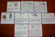 42 SPELLING/THINKING ACTIVITY CARDS Teacher Resource