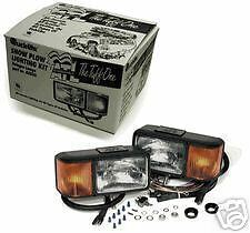 New Diamond Western head lights truck plow snowplow