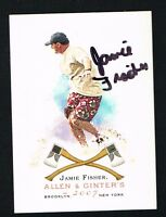 Jamie Fisher #174 signed autograph auto 2007 Topps Allen & Ginter's Card