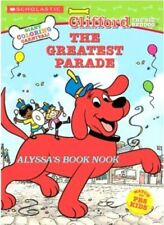 CLIFFORD THE BIG RED DOG ~GIANT COLORING CARNIVAL BOOK~ 144PG