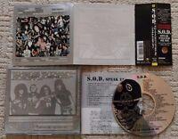 S.O.D. (STORMTROOPERS OF DEATH) - Speak englih or die TAIWAN/JAPAN CD (Hardcore)