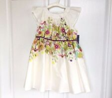 NEW Toddler GIrl CHEROKEE 506081 Floral Special Occasion Dress, 4T - Multi White