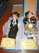 DUCK HOUSE: NIKKI and NATHAN Limited Edition Collectible Porcelain Doll COA ] LN
