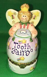 Tooth Fairy Trinket Coin Box Debra Jordan Bryan Pennies From Heaven Hinged