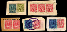 1903-08 CANADA #89-92 - KING EDWARD VII PIECES - USED - F/VF+ - $19.00 (E#1973)