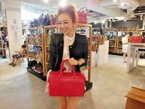 NWT AUTHENTIC Saint Laurent YSL 6 Hour Classic Red Duffle Bag, Retails $2189.00