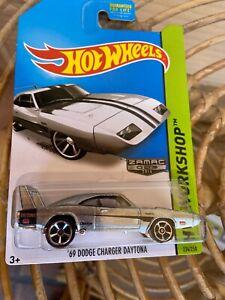 Hot Wheels 69 Dodge Charger Daytona ZAMAC