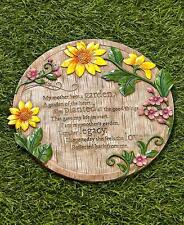 My Mother Kept A Garden Stepping Stone Steppingstones Sentiment Yard Home Decor