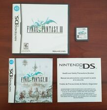 Final Fantasy Iii for Nintendo Ds (Complete CiB, Tested)