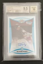2008 Buster Posey Bowman Chrome Refractor RC Auto BGS 9.5/10 w/10 Centering!