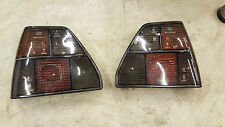 VW GOLF MK2 GTI 16V REAR BLACK RIGHT LEFT TRESER LIGHT LAMP RALLYE SET HELLA