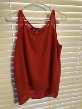 Jennifer Lopez Red Blouse Size L