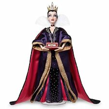 """NEW! DISNEY STORE EVIL QUEEN 17"""" DOLL LIMITED EDITION 4000 SNOW WHITE! IN HAND"""