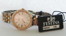 New FESTINA Mademoiselle Ladies Rose Gold Steel Watch F20224/2
