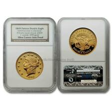 USA 2009 (1849) Pattern Double Eagle Smithsonian 1 oz Gold NGC Proof SKU# 7194