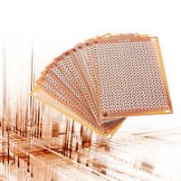 10Pcs Prototype Paper Copper PCB Universal Experiment Matrix Circuit Board 5x7cm