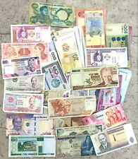 Quality Mixed foreign banknotes, lot of 500+ ideal for Flea Market dealers, nice